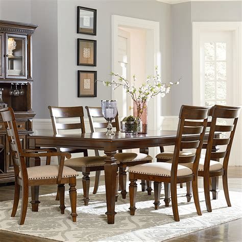 standard furniture charleston  dining table  legs