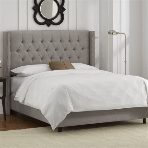 skyline furniture wingback bed rev your rental 5 tips for personalizing your space