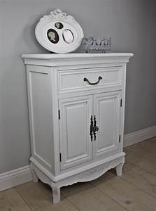 Nachttisch Schrank Weiß : uenjoy 2 x nachttisch nachtschrank kommode wei holz schrank mit 1 schublade 1 schrank smash ~ Indierocktalk.com Haus und Dekorationen