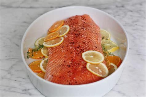 alison romans slow salmon slow cooked salmon food