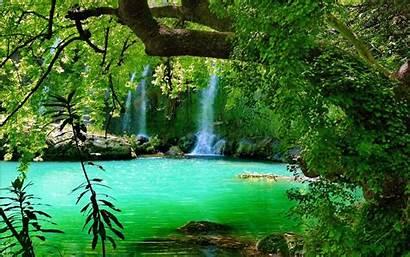 Waterfall Sea Pixelstalk Rainforest
