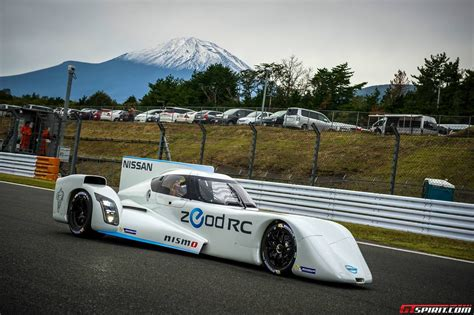 Nissan Zeod Rc Le Mans Prototype Goes To Fuji Speedway