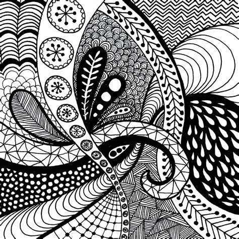 easy zentangle patterns  beginners
