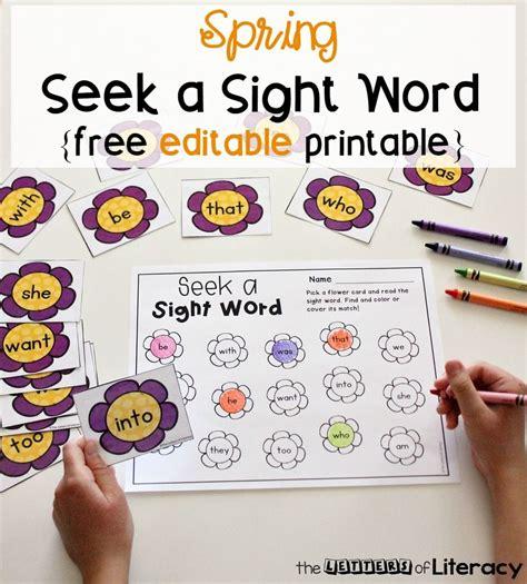 editable sight word extras for the kiddos 383 | 7cca5662d817b65ea884730bafb46316
