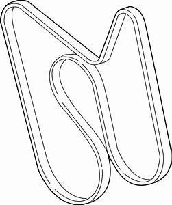 2001 Gmc Yukon Xl 1500 Sle 5 3l Rwd Belt  Drive Belt