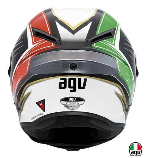Agv Corsa  Racetrack  Helme  Helmet Und Carbon Fiber