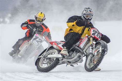 Types Of Motorcycle Racing- Ice Speedway » Bikesmedia.in