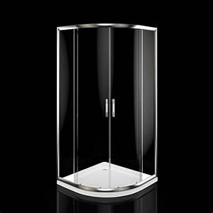 Cabine De Douche Receveur Haut : cabine de douche receveur de douche 90x90 cm quart de rond ~ Edinachiropracticcenter.com Idées de Décoration