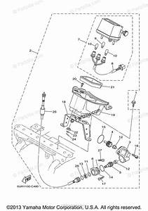 Yamaha Atv 2004 Oem Parts Diagram For Alternate For Meter