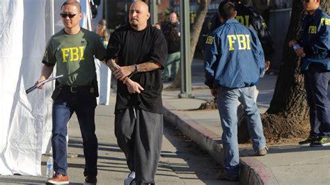Fbi, Lapd Arrest Dozens Of Alleged Gang Members In East L