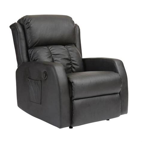 chaise baquet bureau fauteuil relax électrique massant noir galler achat