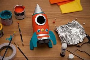 Transform a bottle into a rocket Sainsbury's