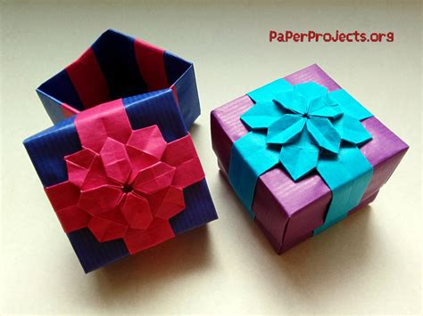 Origami Box Ivoiregion