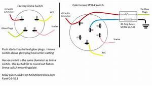 Key Switch Wiring Diagram Ford 1710