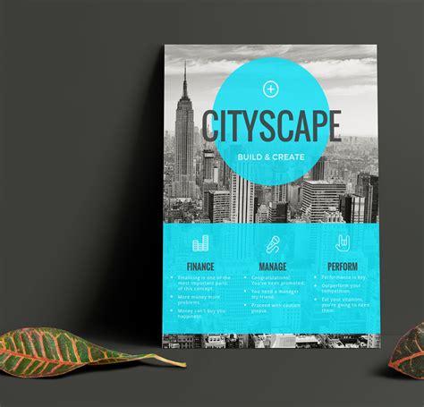 simple blue transparent real estate flyer idea venngage