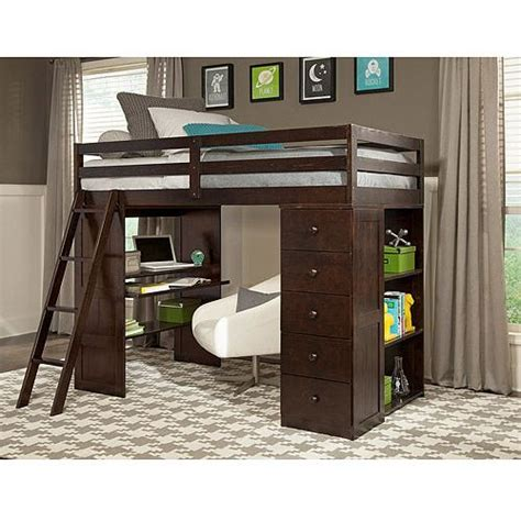 bed with desk and storage canwood skyway twin loft bed with desk storage tower