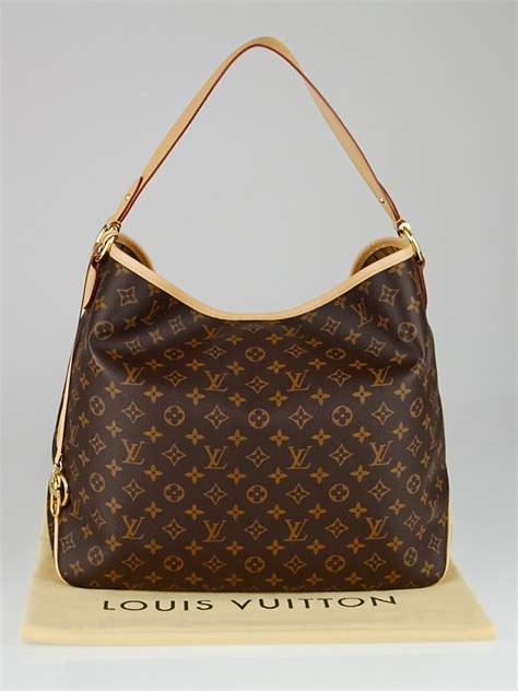 louis vuitton monogram canvas delightful gm nm bag yoogi