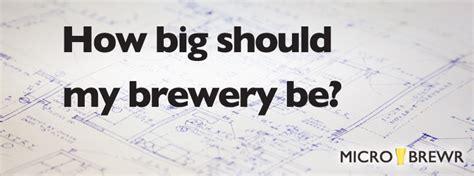 How Big Should My Brewery Be? Microbrewr