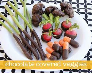 Chocolate Covered Veggies (EDITED: April Fool's