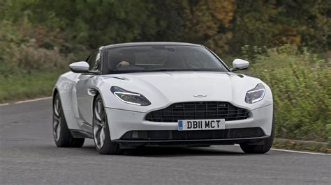aston martin db  review amg powered gt  uk roads
