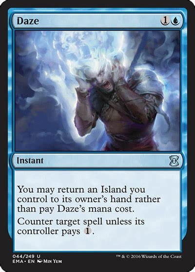 Spell Anticipate by Daze From Eternal Masters Spoiler
