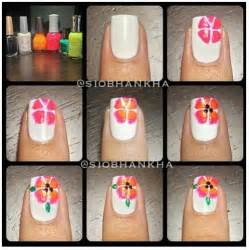 Flower nail art nails and tutorials on