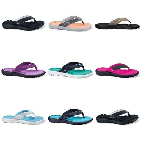 womens nike comfort sandals nike comfort flip flops sandals brand new ebay