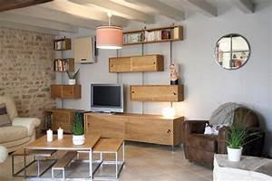 Mobilier Sur Mesure Meuble Tv Hi Fi Bibliothque Et