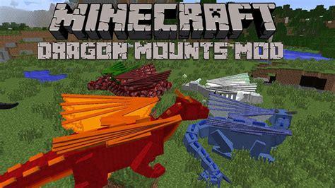 dragon mounts mod   foster  tame dragons  minecraft