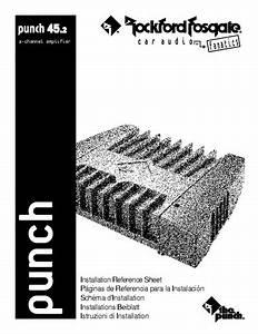 Service Manual   Rockford Fosgate  Punch  Punch 45 2
