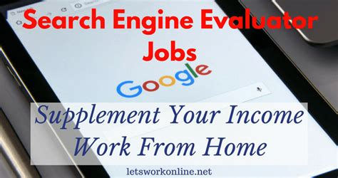 search engine evaluator search engine evaluator jobs a good work from home opportunity
