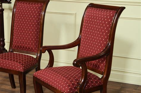modern upholstered dining room chairs  arms home