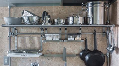 ikea etagere cuisine metal cuisine en image