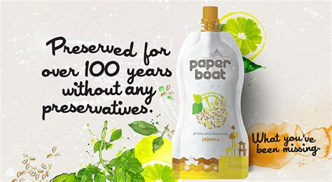 Paper Boat Drinks India by Paper Boat Drink Pitch And Releases On Behance