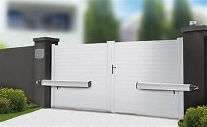 Portail Battant 5 Metres : kit motorisation portail vis sans fin onegate 1 comfort scs la boutique ~ Nature-et-papiers.com Idées de Décoration