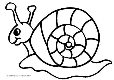 dibujos de caracoles  imprimir  colorear colorear imagenes