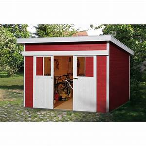 Englische Gartenhäuser Aus Holz : weka holz gartenhaus turin a schwedenrot bxt 295 cm x 209 cm kaufen bei obi ~ Markanthonyermac.com Haus und Dekorationen