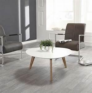 Table Salon Scandinave : table basse en bois style scandinave ~ Teatrodelosmanantiales.com Idées de Décoration