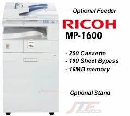 Ricoh Mp 1600 Copier I Ricoh Mp1600 Digital Copier   16
