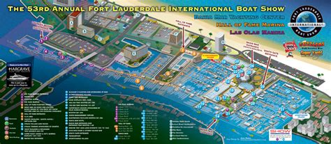 illustrated picture maps illustrated boat show maps