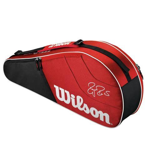wilson federer team  pack bag red tennisnutscom