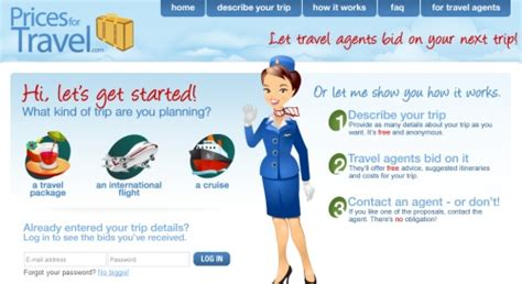 Bid On Travel Pricesfortravel Wants Travel Agents To Bid For Trips Via