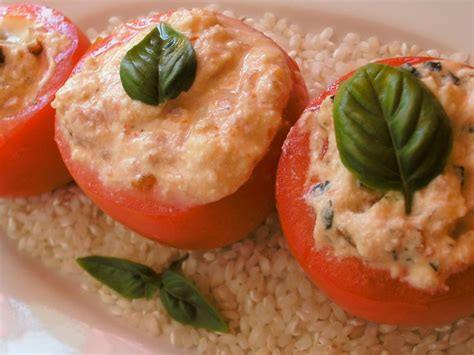 tomates farcies ricotta thon et tomates sech 233 es version chaude ou froide cuisine avec du