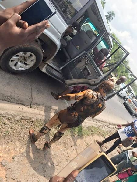 sad graphic   survivors  petroleum tanker fire  lagos ibadan expressway