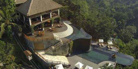 hanging gardens of bali luxury villas in indonesia cape