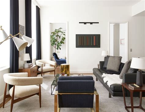 Contemporary Style : A Clean-lined New York Apartment By Gachot Studios Dressed