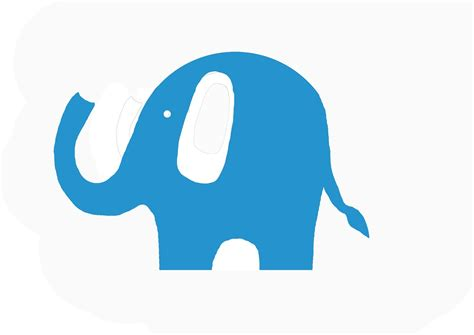 green elephant outline clipart   cliparts