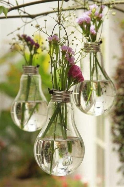 le mit mehreren glühbirnen 46 wundersch 246 ne ideen f 252 r glasvasen deko archzine net