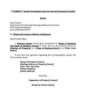 printable authorization letter  permit samples