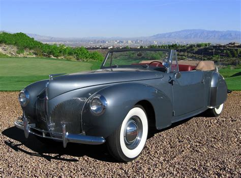 1940 Lincoln Zephyr Convertible 66366